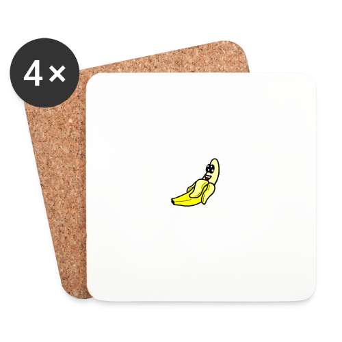 Banana - Dessous de verre (lot de 4)