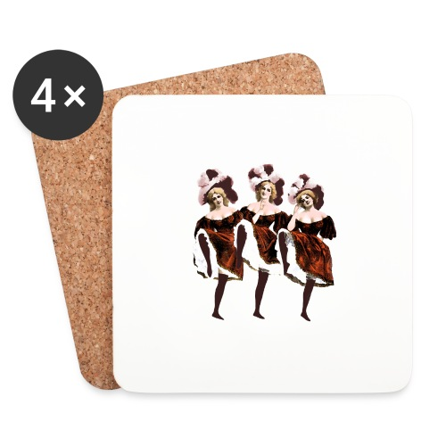 Vintage Dancers - Coasters (set of 4)