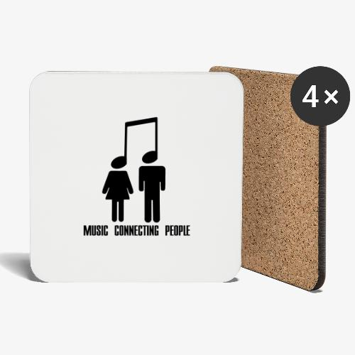 Music Connecting People - Untersetzer (4er-Set)