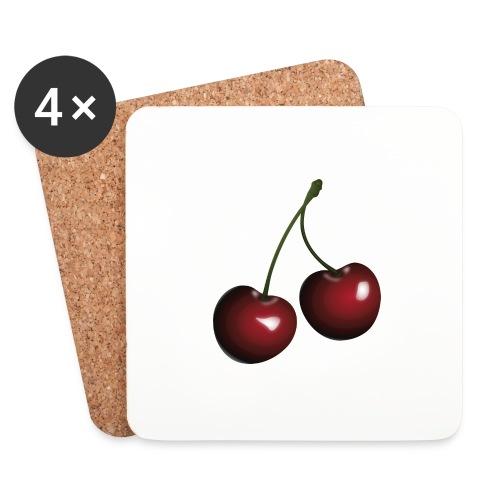 Körsbär - Underlägg (4-pack)