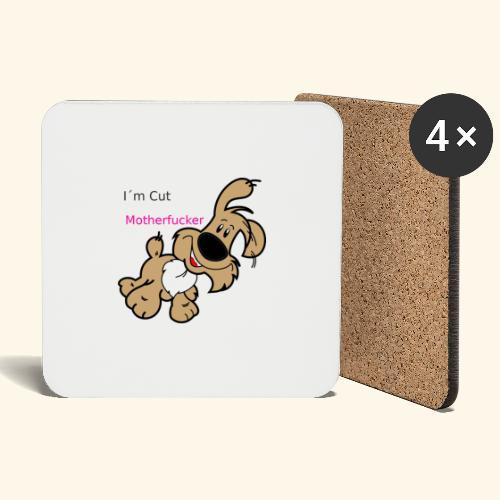 Motherfucker dog - Coasters (set of 4)