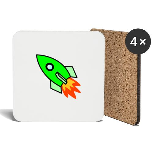 neon green - Coasters (set of 4)