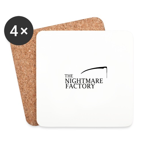 nightmare factory Nero png - Coasters (set of 4)