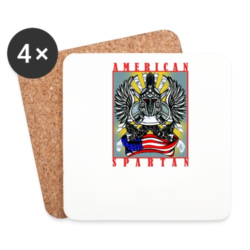 American Spartan - Coasters (set of 4)