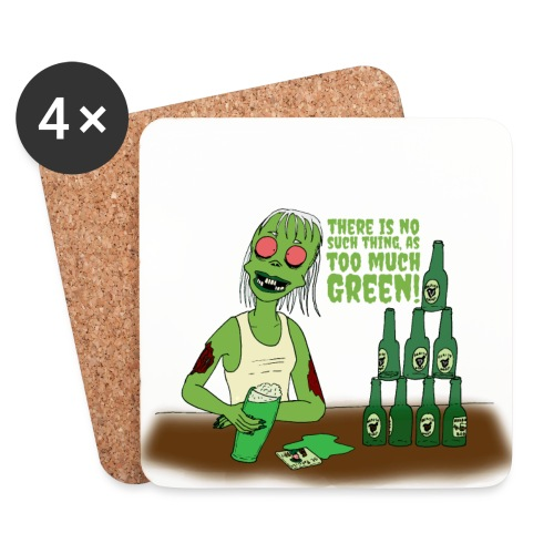 Not too much - Coasters (set of 4)