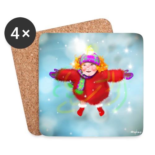 Christmas lassy - Coasters (set of 4)