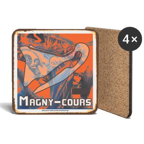 MAGNY COURS - Dessous de verre (lot de 4)