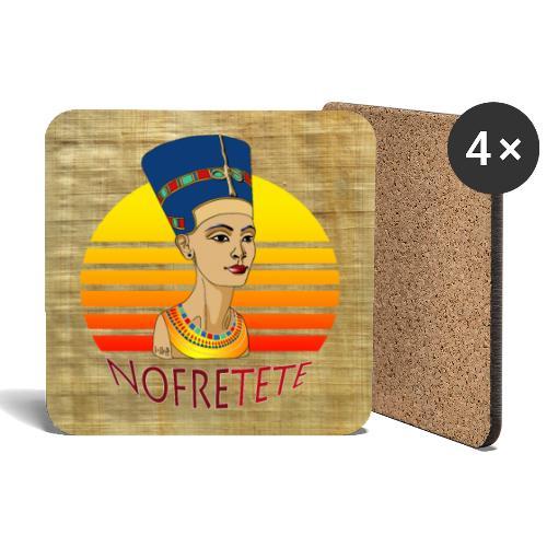 Nofrete von Ägypten - Untersetzer (4er-Set)