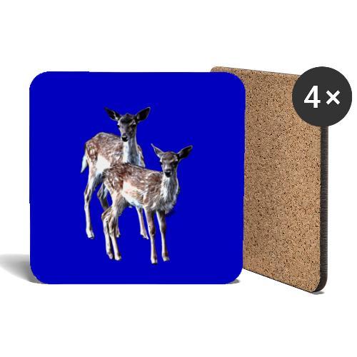 POPIIZERO - THE BAMBIS BLUE - Untersetzer (4er-Set)