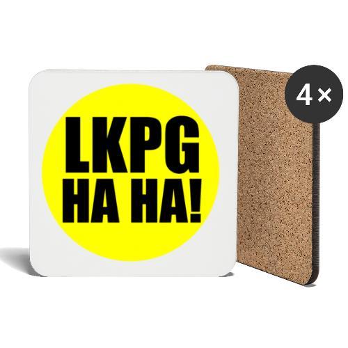 LKPG HA HA! - Underlägg (4-pack)