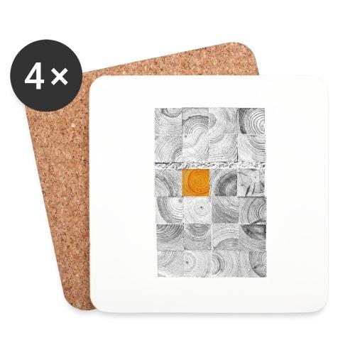 Cubes de Bois - Dessous de verre (lot de 4)