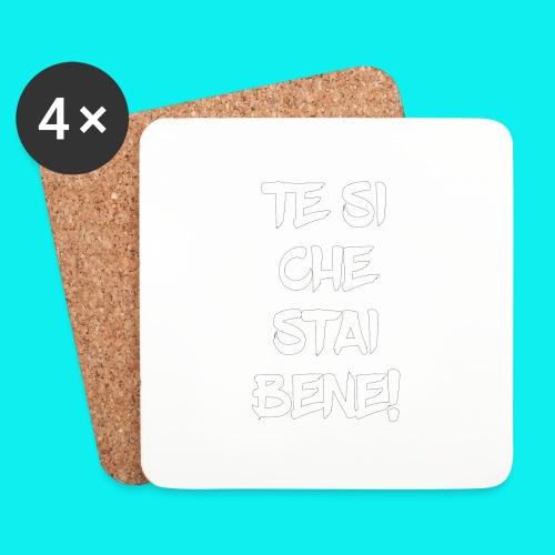 tesiokok - Sottobicchieri (set da 4 pezzi)