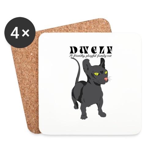 DWELF - Lasinalustat (4 kpl:n setti)