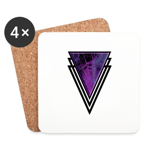 Gothic Glamour Purple Magic Halloween Goth Glam - Coasters (set of 4)
