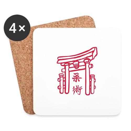 Jiujitsu_Tor - Untersetzer (4er-Set)