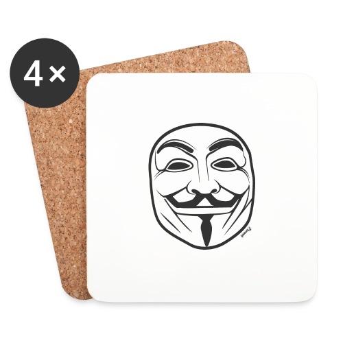 *NEW* Anonymous (H) - Dessous de verre (lot de 4)