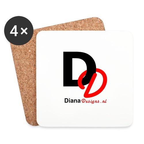 logo_diana_designs-nl - Onderzetters (4 stuks)