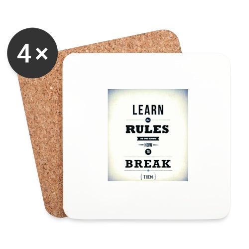 RULES - Onderzetters (4 stuks)