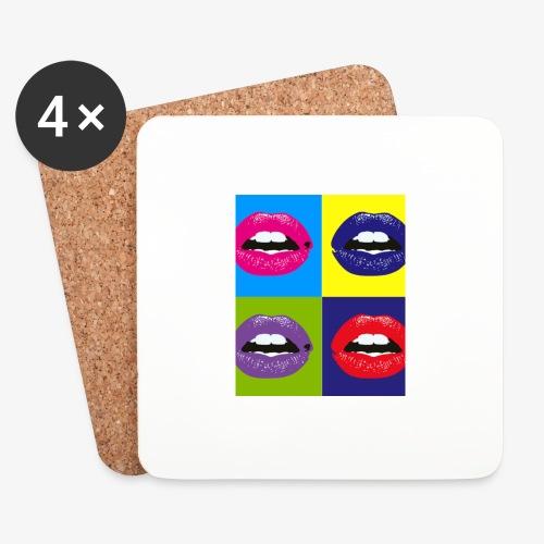 Colors - Sottobicchieri (set da 4 pezzi)