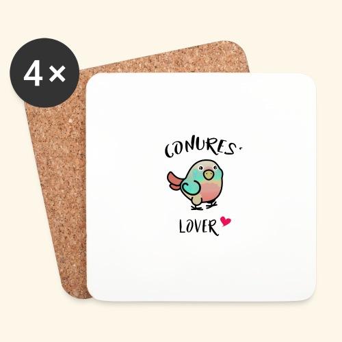 Conures' Lover: Toc - Dessous de verre (lot de 4)