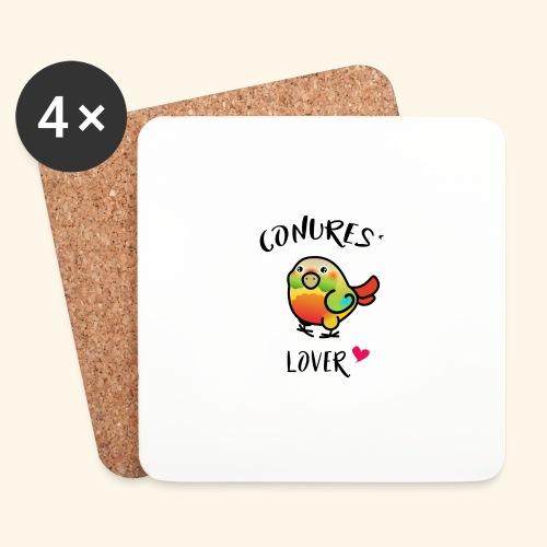 Conures' Lover: Ananas - Dessous de verre (lot de 4)