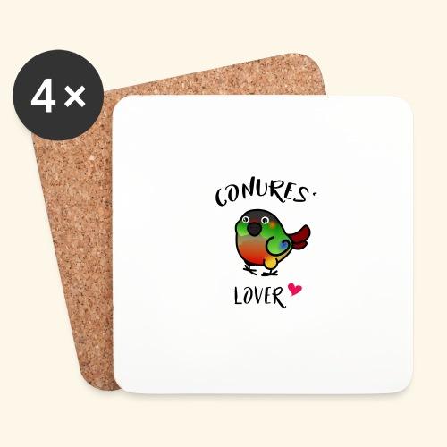 Conures' Lover: opaline - Dessous de verre (lot de 4)
