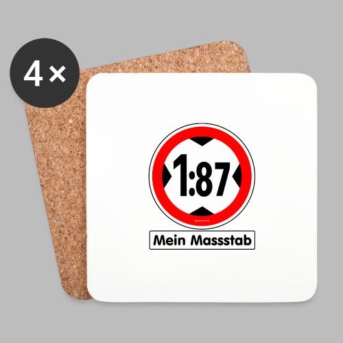 1:87 Mein Massstab - Untersetzer (4er-Set)