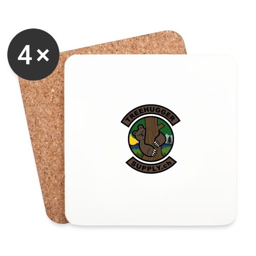 Treehuggersupply Classic - Untersetzer (4er-Set)