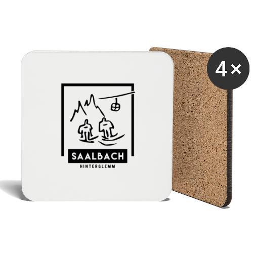 Skido's Saalbach - Onderzetters (4 stuks)