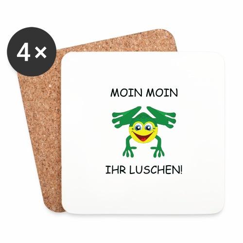 Frosch Tasse - Untersetzer (4er-Set)