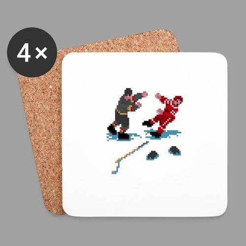 GLOVES OFF! - Coasters (set of 4)