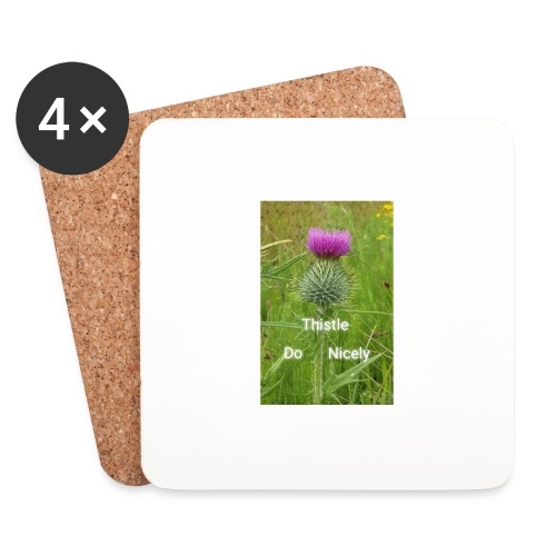 IMG 20180301 221949 Thistle Do Nicely - Coasters (set of 4)