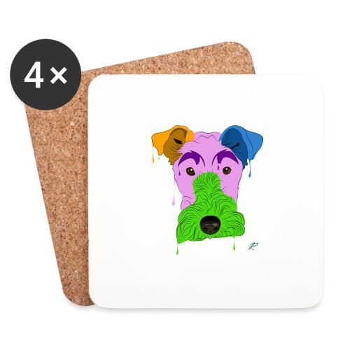Fox Terrier - Sottobicchieri (set da 4 pezzi)
