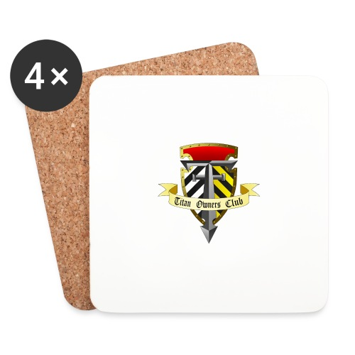 TOC Gothic Clear Background 1 - Coasters (set of 4)