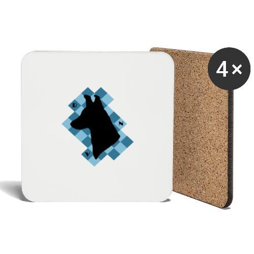 SquareDog - Lasinalustat (4 kpl:n setti)