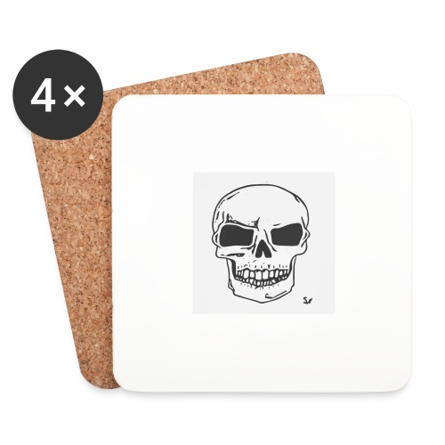 Skull Magic - Coasters (set of 4)