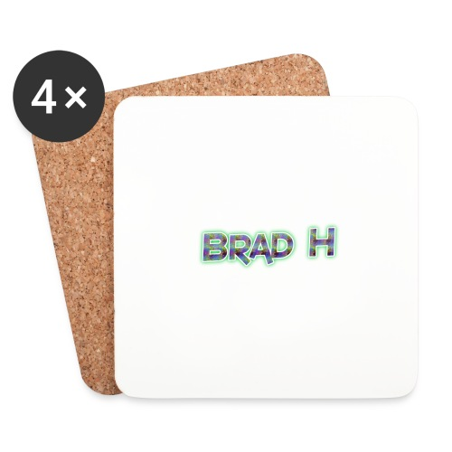Official Brad H Logo - Coasters (set of 4)