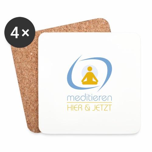 MeditierenHierJetzt.ch - Untersetzer (4er-Set)