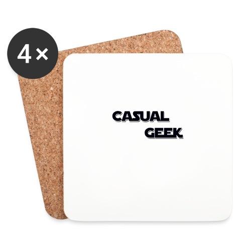 CasualGeek Standard Logo - Coasters (set of 4)