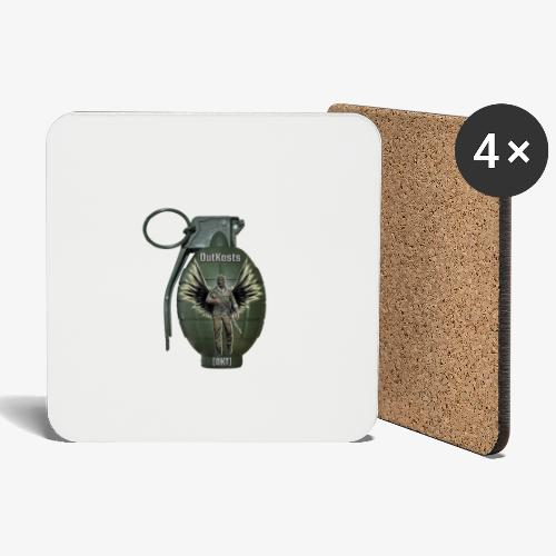 grenadearma3 png - Coasters (set of 4)