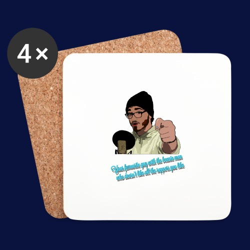 Your Favourite Beanie Man - Coasters (set of 4)