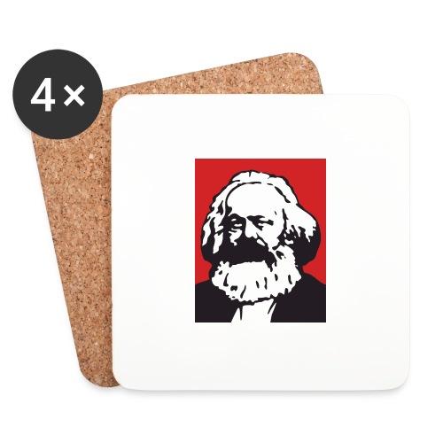 Karl Marx - Sottobicchieri (set da 4 pezzi)