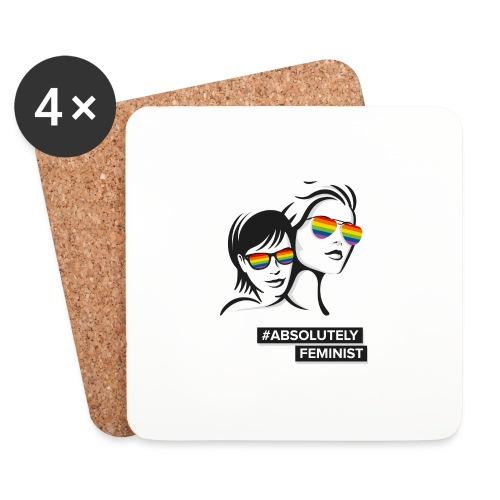 L-BEACH Rainbow Glasses - Untersetzer (4er-Set)