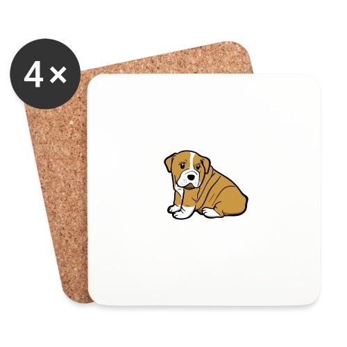 My Best Friend - Hundewelpen Spruch - Untersetzer (4er-Set)