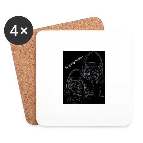 Long way to go - Coasters (set of 4)