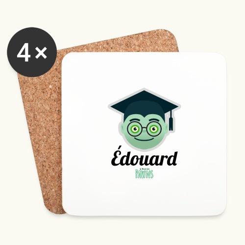Édouard (Le monde des Pawns) - Dessous de verre (lot de 4)