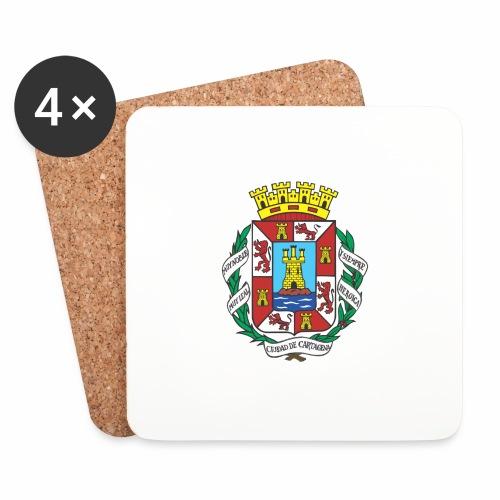 Escudo Cartagena - Posavasos (juego de 4)