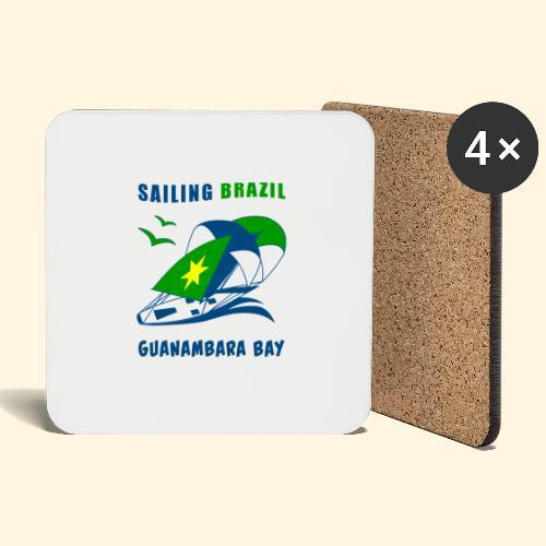 Sailing Brazil - Coasters (set of 4)