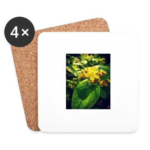 Fleur - Dessous de verre (lot de 4)