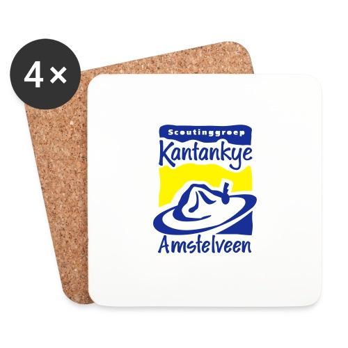 logo simpel 2 - Onderzetters (4 stuks)